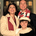 "Arvada Center Miracle on 34th St L_R Lauren Shealy (Doris)_Regan Fenske (Susan)_Jody Madaras (Fred) 2 Photo P. Switzer 2012 - PHOTO INFORMATION IS NOTED IN TITLE INCLUDING ACTORS PICTURED AND PHOTOGRAPHER CREDIT - PLEASE INCLUDE IN ALL REPRINTS.   Based on the delightful movie classic that starred Edmund Gwenn as Kris Kringle and a young Natalie Wood, this musical version includes memorable songs such as ""Jolly Old St. Nicholas,"" ""The Holly…"