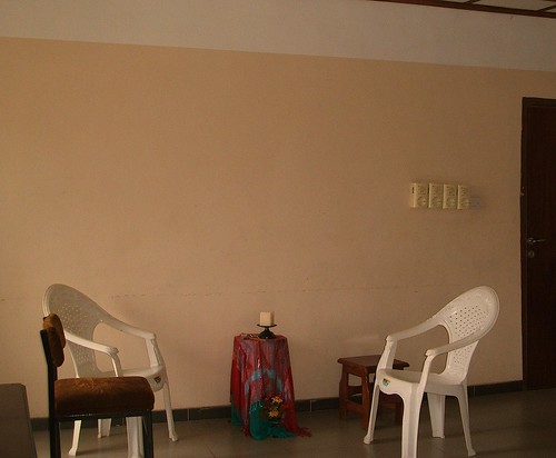 Sacred space for spiritual direction at the Abbé Louis Bautain Retreat, Conference and Catechetical Centre, Ijebu Itele