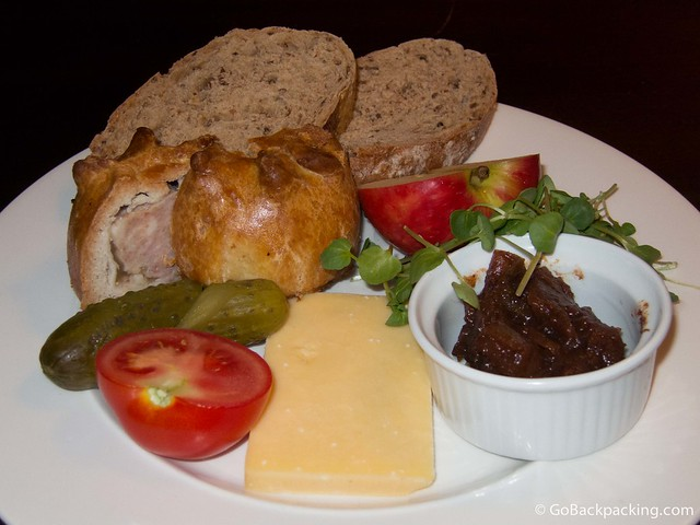 Potted Pig's ploughmans lunch