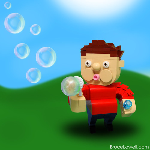 LEGO Bubble Boy