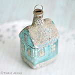 Vintage house ornament