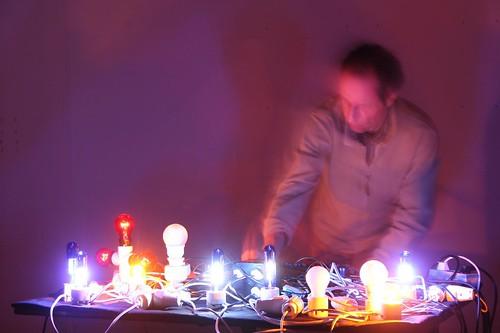 Michael Vorfeld / Glühlampenmusik