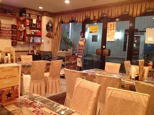 店内@シルクロード・タリムウイグルレストラン