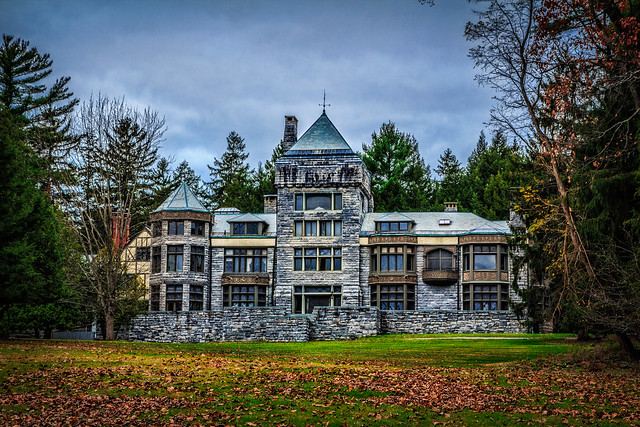 Stormy Skies at Yaddo
