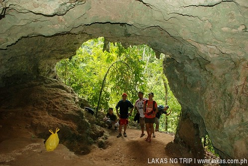 The other end of Tadyaw Cave