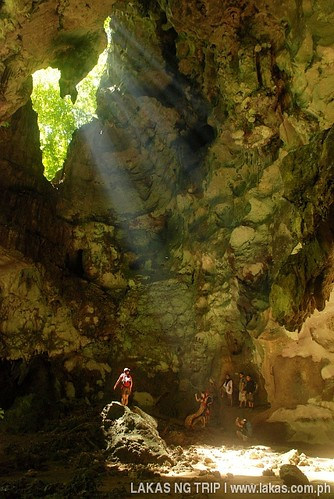 Daylight hole in Sarang Cave