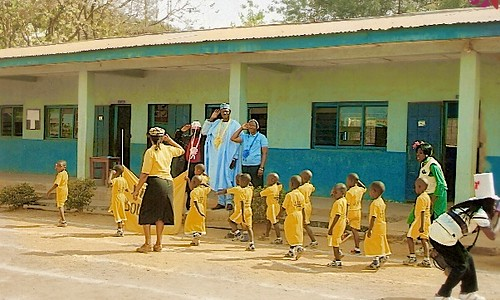 The St Louis Nursery and Primary School in Zonkwa