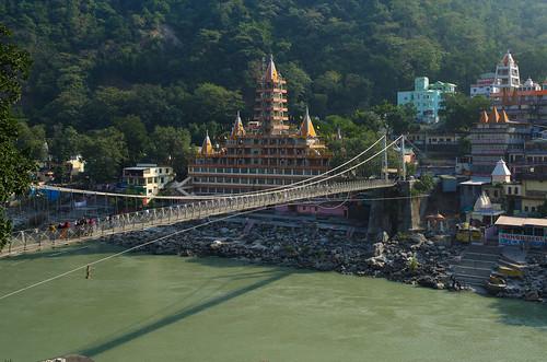 Laxman Jhoola - Main Tourist Area in Rishikesh