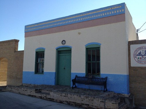 <p>This historic building shows the unique cultural influences that converge in South Texas.</p>