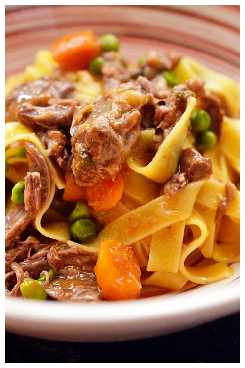 Pappardelle with Oxtail Ragu© by Haalo