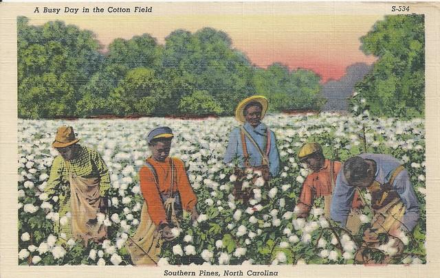 Southern Pines, North Carolina, Black, Stereotype, Cotton ...