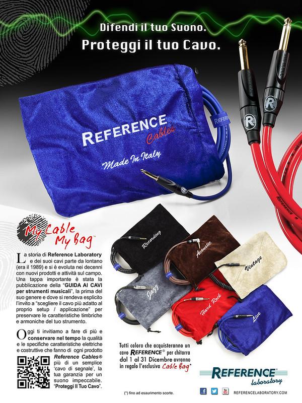Difendi Il Tuo Suono. Proteggi il tuo Cavo | Reference Cable Bag - click per download da Flickr...
