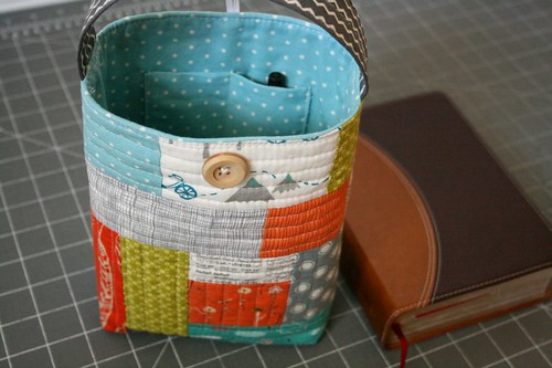 Quilted bible carrier