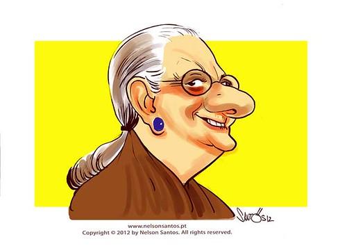 Eunice-Munoz by caricaturas