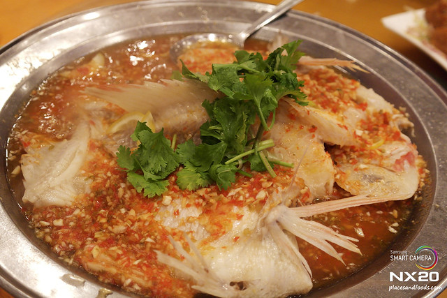 chan yew kee steamed tilapia