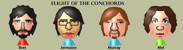 mii compilation - Flight Of The Conchords