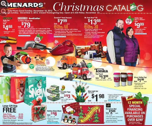 e84a29ab2acbb Here are the Menards deals for 11 18 2012 through 12 2 2012. Other deals  that end on the 18th are on this page. The Christmas Decor sale that ends  11 18 is ...