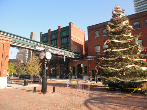 Distillery District preparing for Toronto Christmas Market