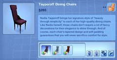 Tayporoff Dining Chairs