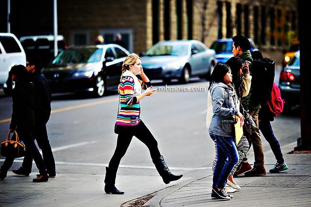 Girl on 7th Calgary - Rob Moses Photography