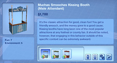 Moochas Smooches Kissing Booth (Male Attendant)