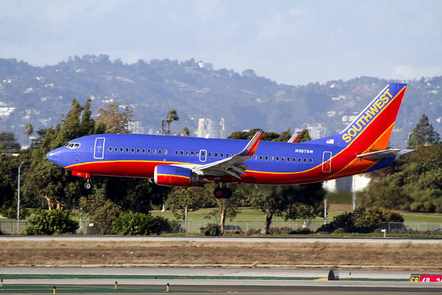 Southwest Airlines B737-800