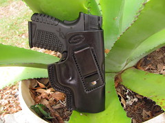 Bear creek IWB leather holster for XDS