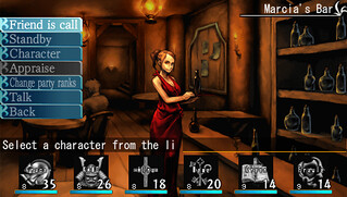 Elminage Original on PSP