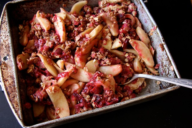 Vegan Apple Cranberry Oatmeal Bake Flaky Apple Dumplings with Salted ...