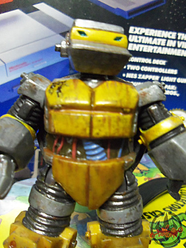 Nickelodeon  TEENAGE MUTANT NINJA TURTLES :: METALHEAD { tOkKUSTOM JUNKYARD Rust WASH } iii (( 2012 ))