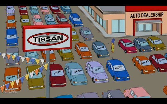 Tissan - The Simpsons - Adventures in Baby Getting