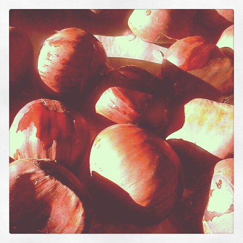 chestnuts - these remind me of my Dad, he loved them