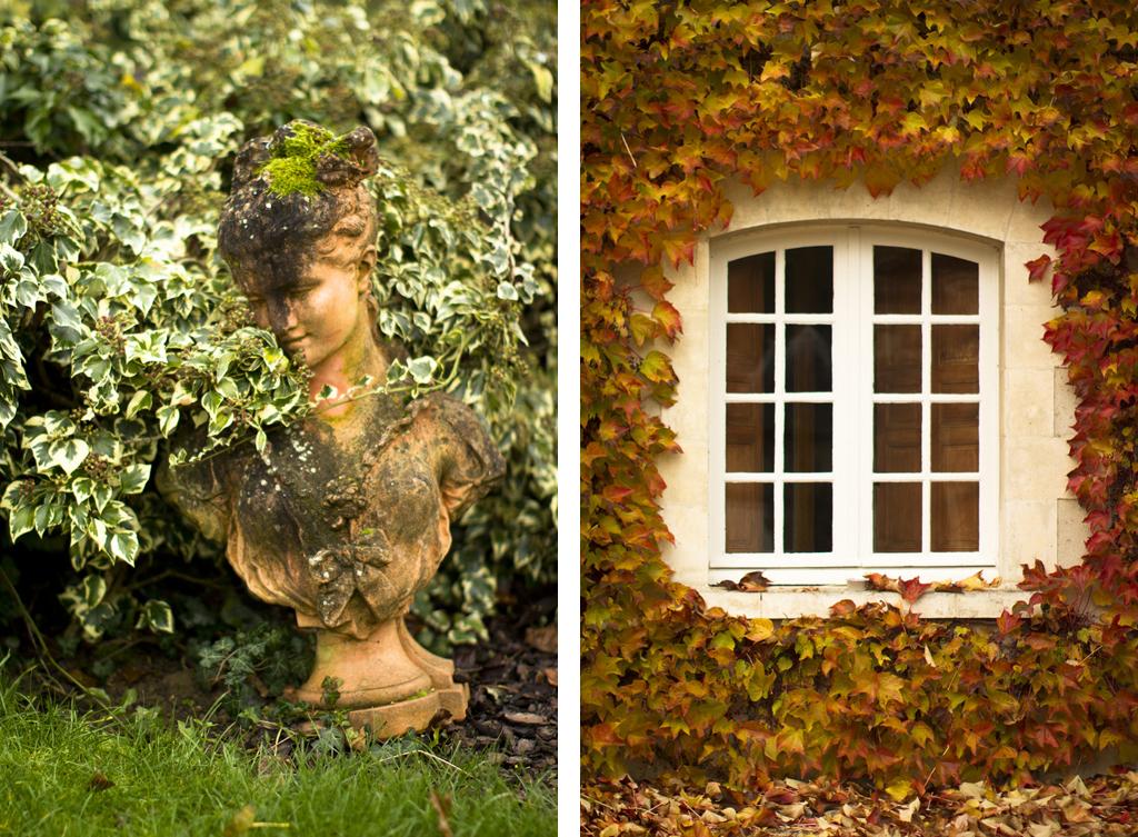 Autumn at Chateau du Portail