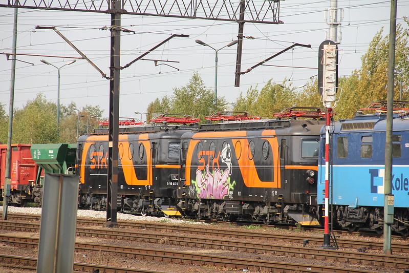 STK 140.079 + 140.099 , Wrocław Gądów train station 21.09.2012