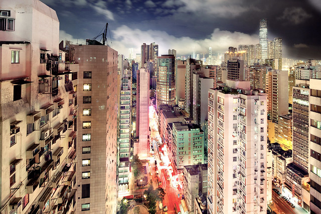 Kowloon and Central View from Mong Kok