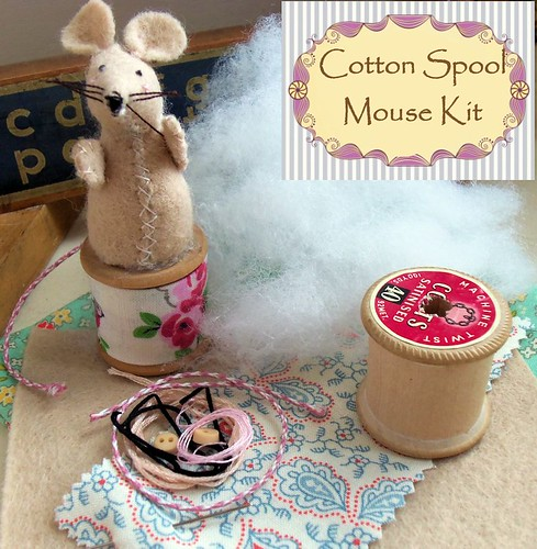 Cotton Spool Mouse
