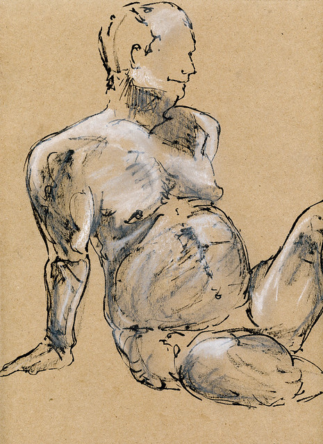 Life Drawing at Harcourt House-3