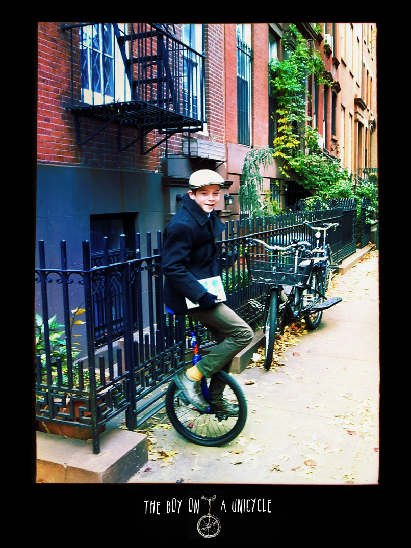 the boy on a unicycle 1