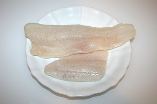 06 - Zutat Zanderfilet / Ingredient pike perch filet