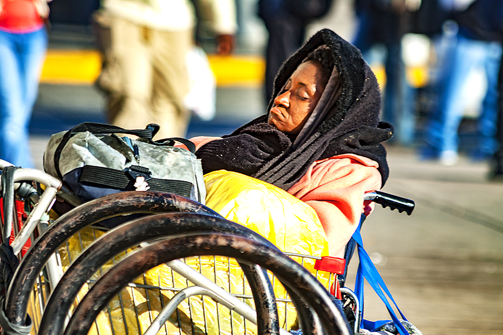 Old-woman-sleeping-in-wheechair--Camden-2