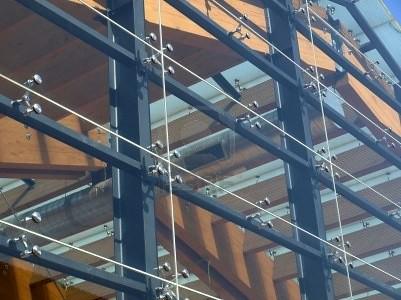 Acristalamiento de fachadas con vidrio estructural - Fachadas de cristal ...