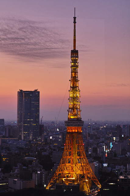 Tokyo Tower from World Trade Center Building