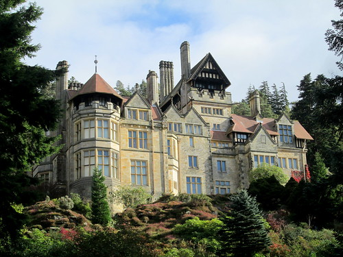 Cragside house from gardens