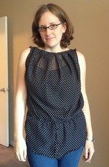 Polka Dot Top - After