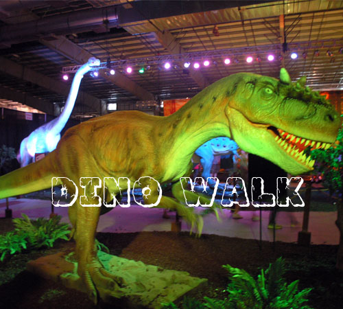 Indoor Animatronic Dinosaur Model exhibition in Zurich