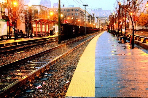 boston huntington avenue green line yellow line