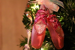 The world 39 s best photos of ballet and fake flickr hive mind for Ballet shoes christmas decoration