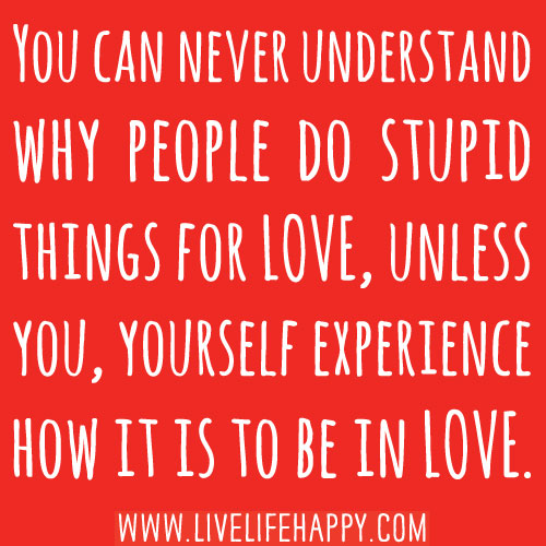 You Can Never Understand