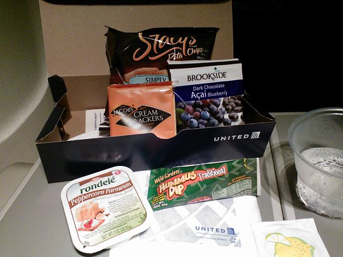 A United Express p.m. Box