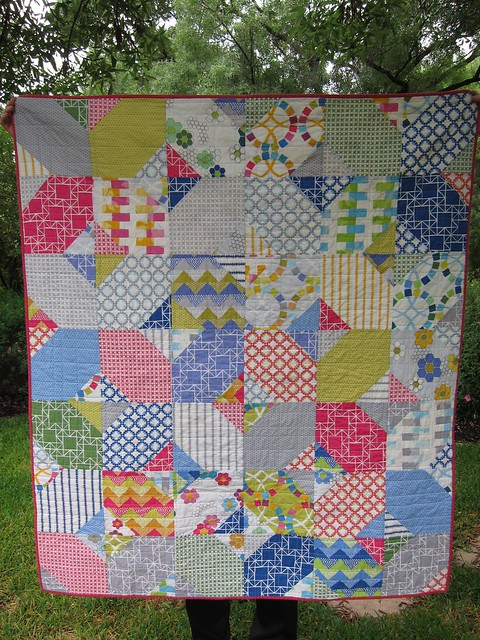 Emergency Hug quilt